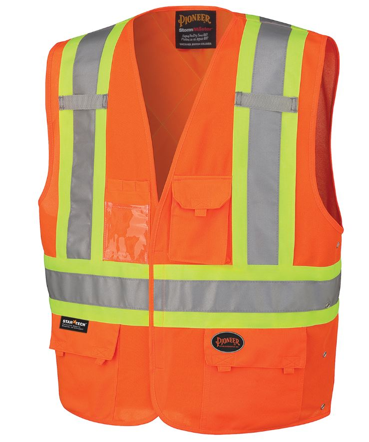 Hi-Vis Safety Vest - V1020250