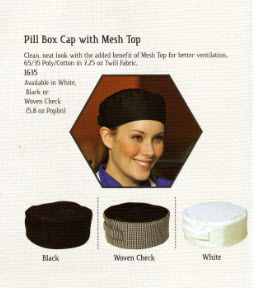 Pill Box Hat - Premium Style - with Cool Mesh Top - FS1635