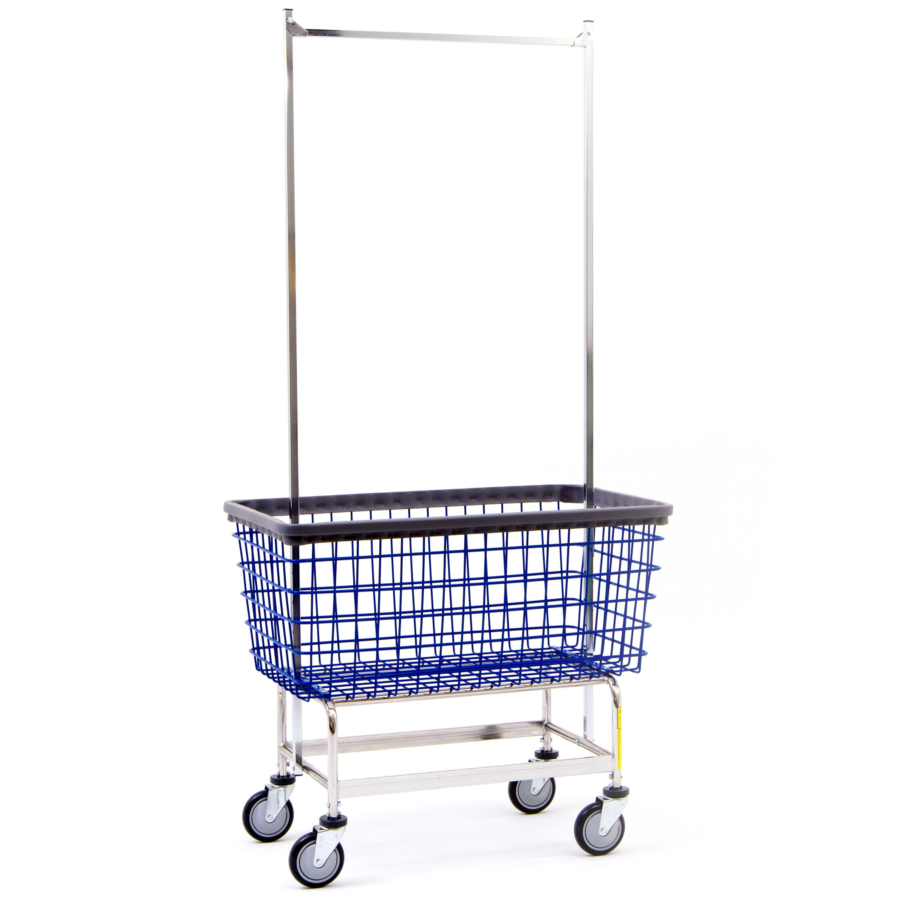 Bc Textile Innovations Basket Cart Laundry Basket On