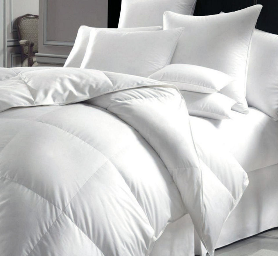 Sleepy-Time - Box Baffle - Microfiber Duvet - Twin - White
