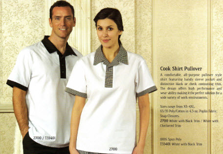 Cook Shirts, Premium, Pullover Style - Poly/Cotton - FS2700