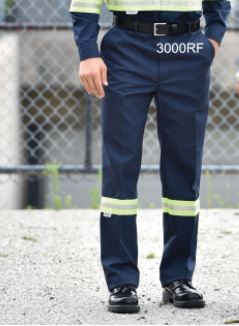 Work Pants, Hi-Vis Style - Button Front Close - SA3000RF