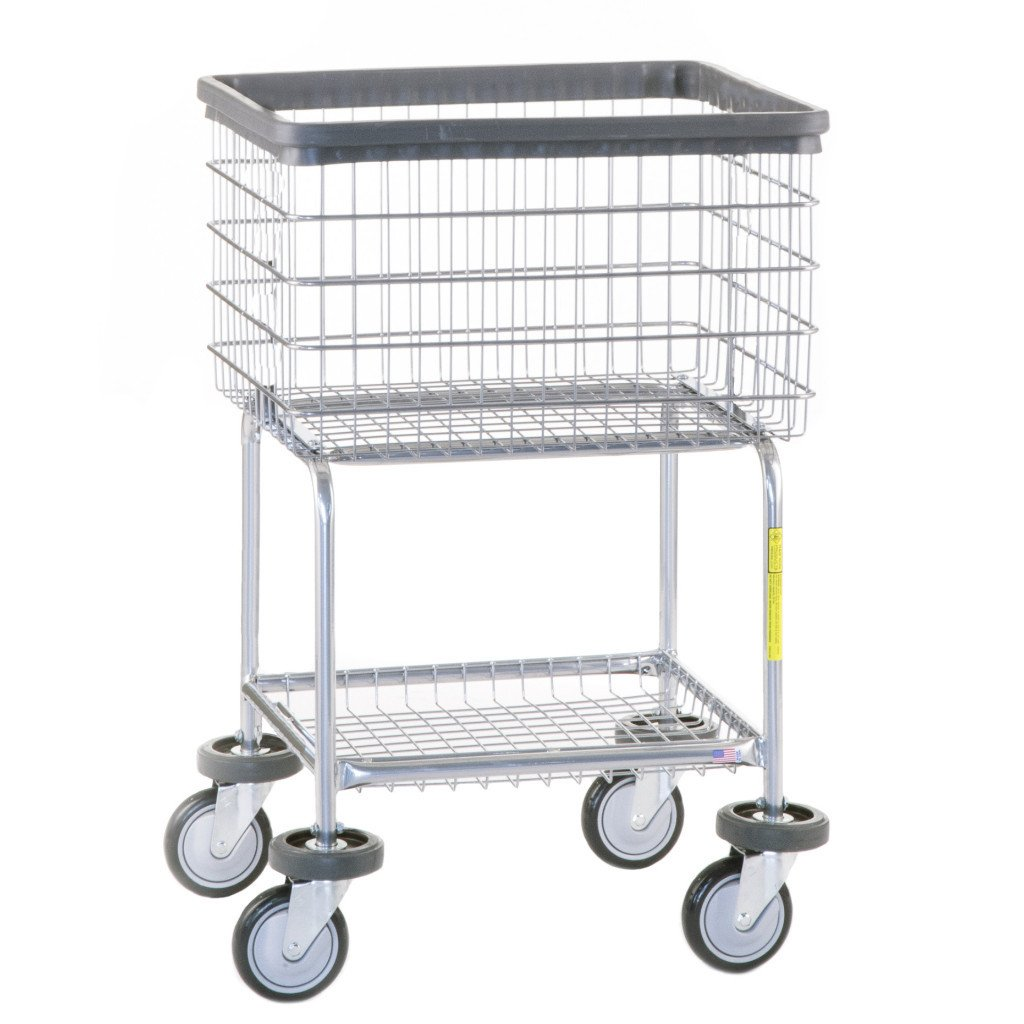 Deluxe Elevated Laundry Cart 300G