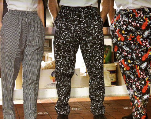 Chef Pants, Premium Baggy Style - FS3040