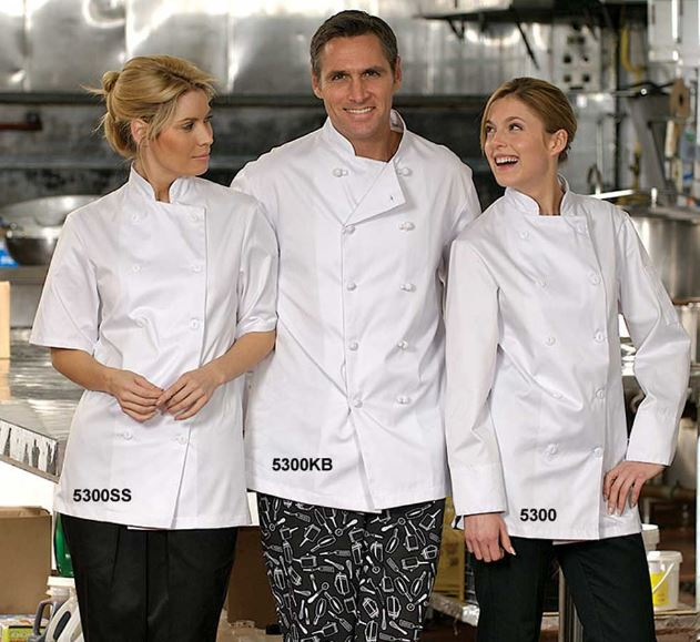 Chef Jacket, Economy, 65/35 Poly/Cotton - #5300