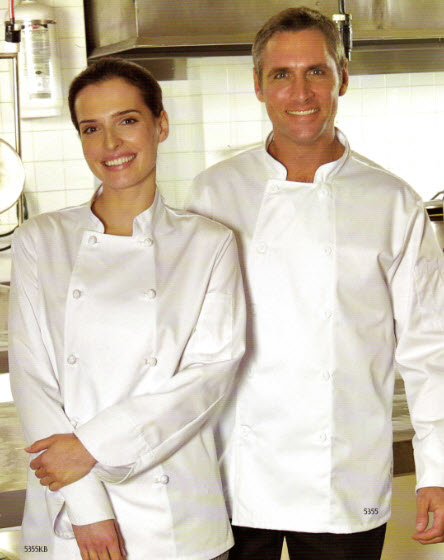 Chef Jacket, Premium, Double Breasted - #5355 - White