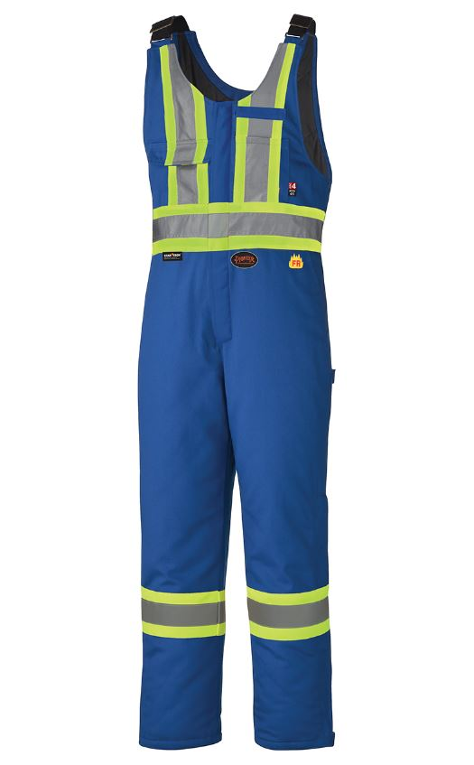 FR Safety Quilted Cotton Overalls - V2560311