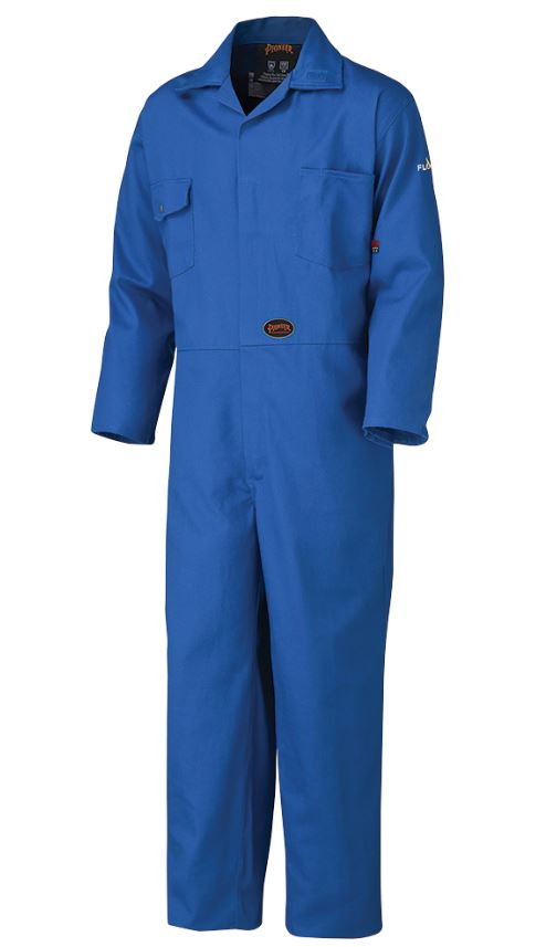FR Safety Royal Cotton Coveralls - V2520310