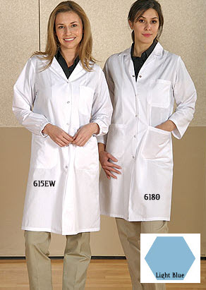 Ladies Style - Premium Lab Coats - Snap Close - SA6180