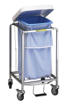 Single Heavy Duty Steel Hamper - #672NB