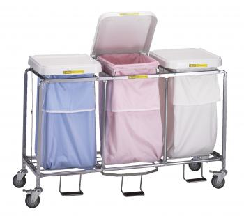 Triple Heavy Duty Steel Hamper - #676NB