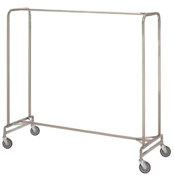 "Garment Rack - Portable 72"" Single #721"