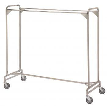"Garment Rack - Portable 72"" Double #722"