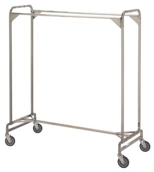 "Garment Rack - Portable 60"" Double #725 - Click Image to Close"