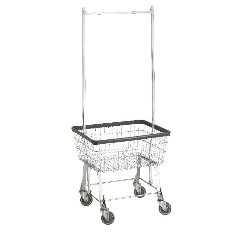 Bc Textile Innovations Basket Cart Laundry Basket On Wheels
