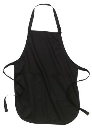 Authentic™ Full Length Apron with Pockets. A100