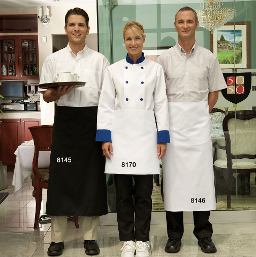 4 Way Aprons, Premium, Economy Style, No Pockets - AP8170