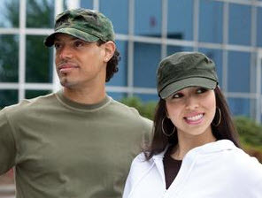Authentic™ Fit - Distressed Military Cap. C180