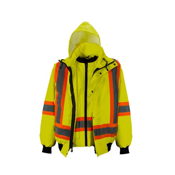 HI-VIS 6 IN 1 DELUXE WINTER BOMBER JACKET- SAC29119102