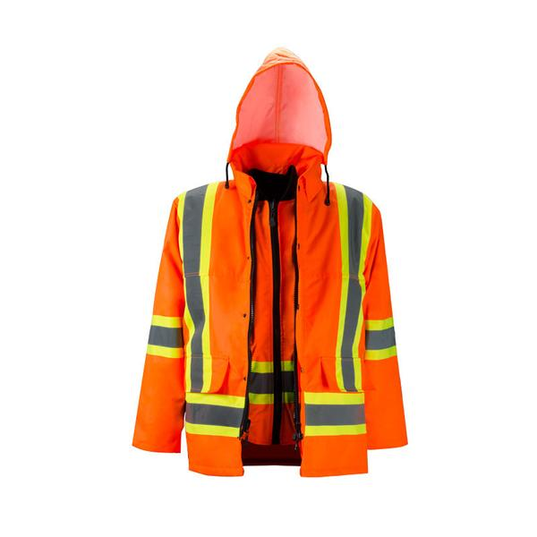 HI-VIS 6 IN 1 DELUXE WINTER PARKA​ - SAC29118102​