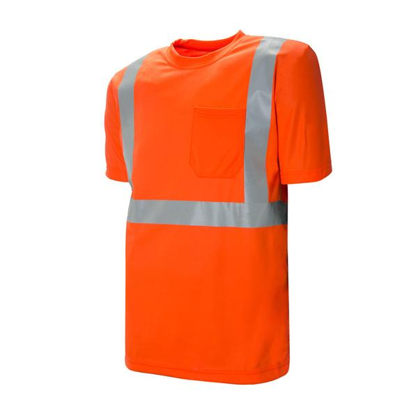 "HI-VIS ECONOMY T-SHIRT WITH 2"" REFLECTIVE TAPE - SAC59127102"