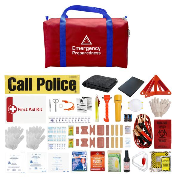 DELUXE EMERGENCY PREPAREDNESS CAR KIT - EPKDX-N