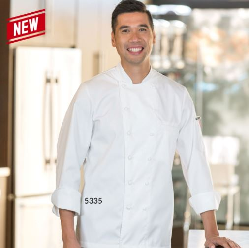 Chef Jacket, Premium, 100% Cotton - #5335