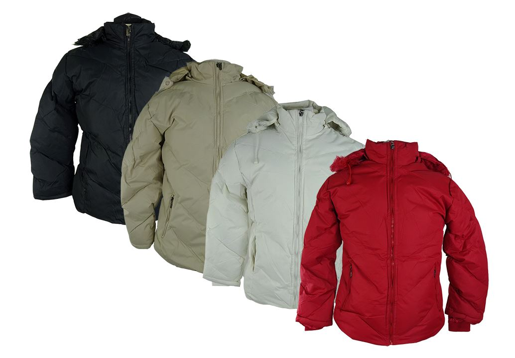 Ladies Winter Jackets - Mixed Sizes M-XXL - 24 per carton