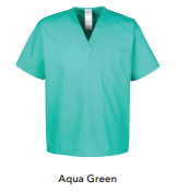 Harriton™ V Neck Unisex Scrub Top - M897