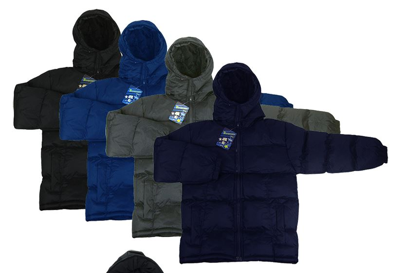 Men's Winter Jackets - Mixed Sizes M-XXL - 24 per carton