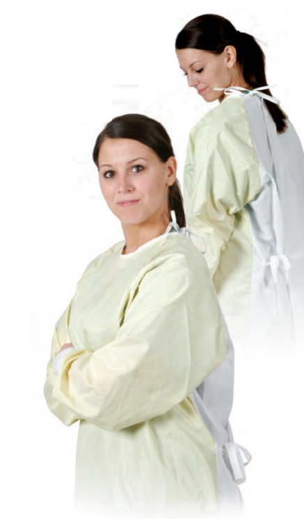 Unisex Level 3 Barrier Isolation Gown - Tie Closure - OSFM