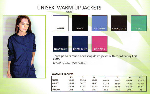 Fashion Warm up Jackets - SCR200