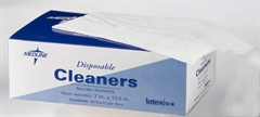 "Disposable Patient Cleaning Cloths - 7"" x 13.5"""