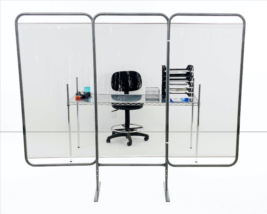 Antimicrobial - Barrier Screens (Partitions) - Stationary