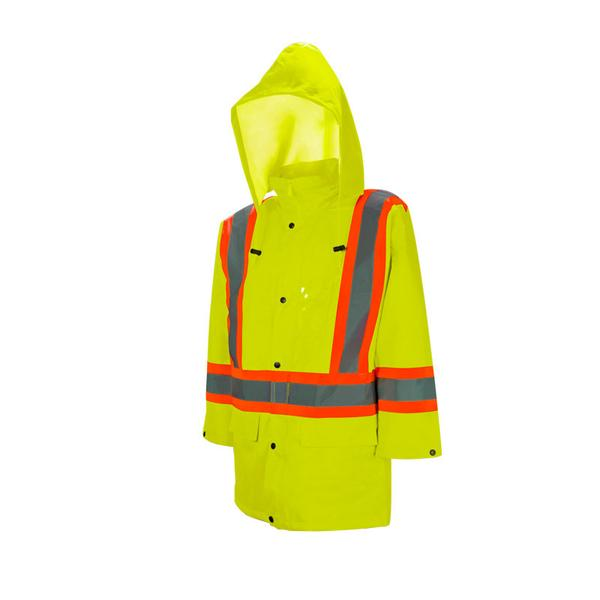 HI-VIS 980 TRAFFIC RAIN JACKET - SAR982O21
