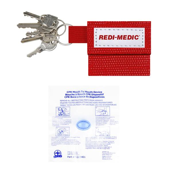 CPR KEY HOLDER WITH ONE WAY VALVE -  RC1
