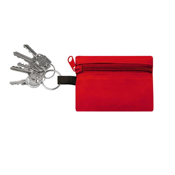 CPR KEY HOLDER WITH NON-LATEX GLOVES -  RC2