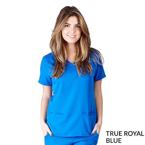 Ultra Soft 2 Pocket Scrub Tops - SC8117