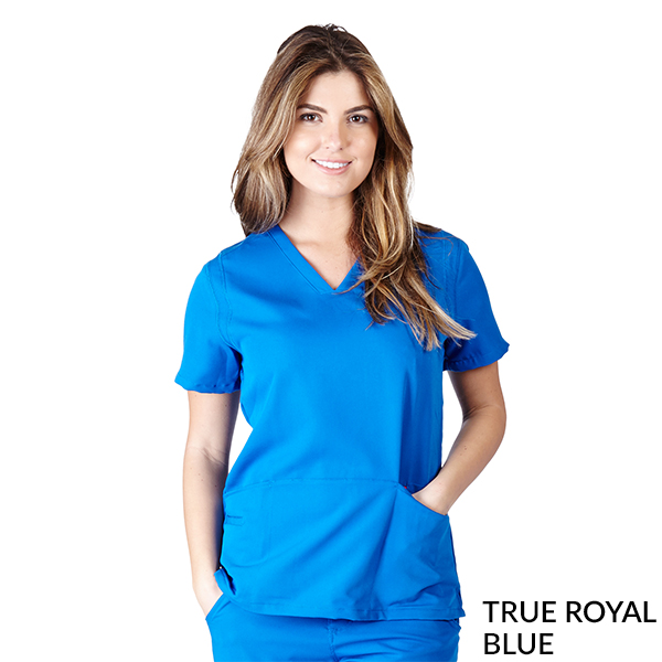 Ultra Soft 5 Pocket Scrub Tops - SC8118