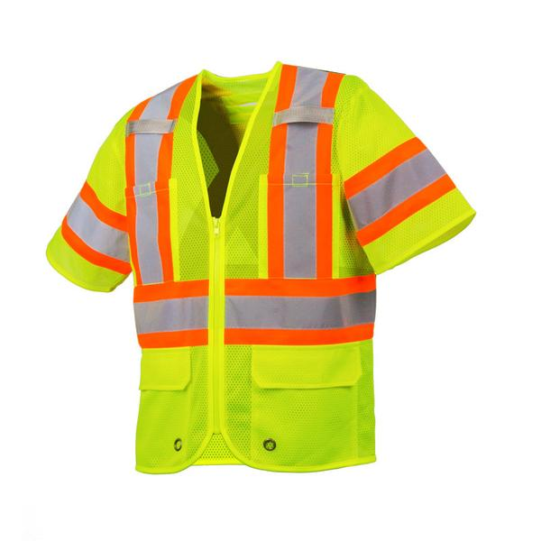 SURVEYOR VEST WITH SLEEVES & FOUR POCKETS - SA57L40702