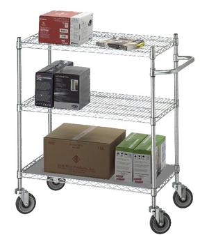 Utility Linen Carts - 3 Shelves - #UC****