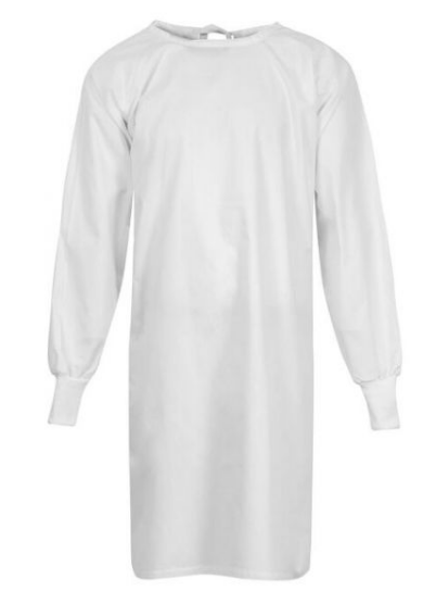 Unisex Barrier Precaution Gown - Tie Closure - OSFM