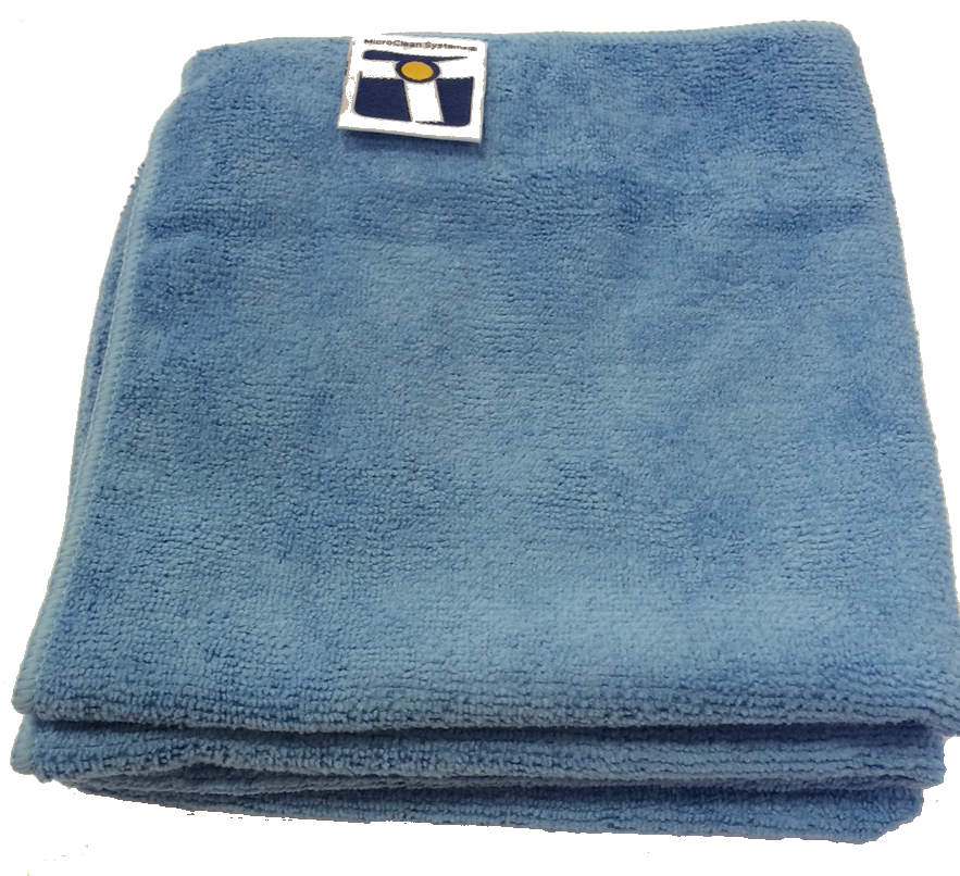 "Microfiber General Cleaning Cloth - 15x15"" Blue"