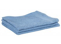 "Bar Wipe- 100% Cotton 16x16"" Solid Blue"