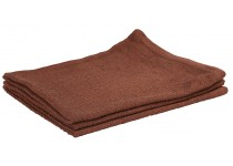 "Bar Wipe- 100% Cotton 16x19"" Solid Brown"