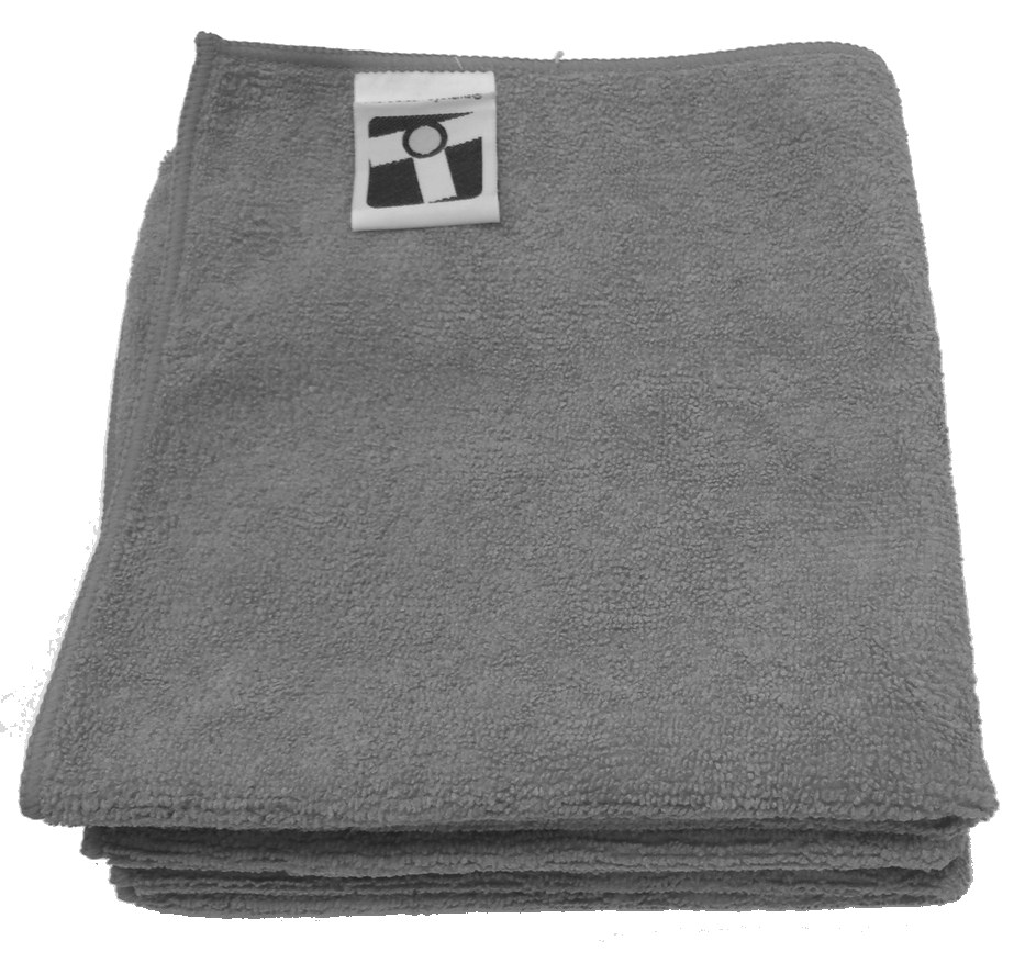"Microfiber General Cleaning Cloth - 15x15"" - Charcoal"