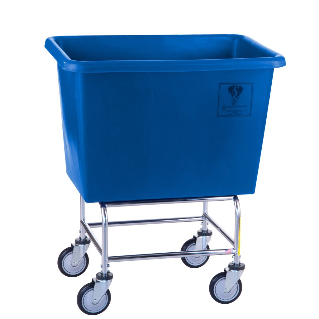 Elevated Plastic Bushel Cart - 6 Bushel