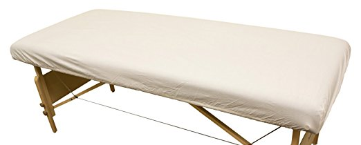 "Merit™ Spa Collection Flannel Fitted Sheets 48""x88"" - Natural"