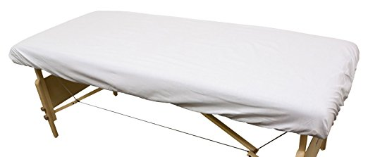 "Merit™ Spa Collection Flannel Fitted Sheets 48""x88"" - White"