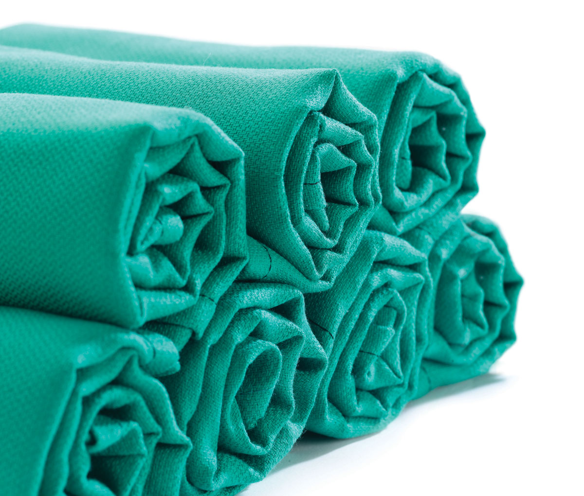 "Huck Towel - 100% Cotton 17x30"" Green"